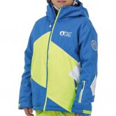 Picture - Seattle Jacke Jungen picture blue neon yellow