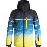 Quiksilver - Mission Engineered Jacke Jungen sulphur blur lights