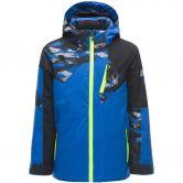 Spyder - Leader Skijacke Jungen schwarz blau
