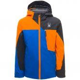 Spyder - Ambush Skijacke Jungen schwarz blau orange
