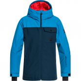 Quiksilver - Mission Solid Ski Jacket Boys dress blues