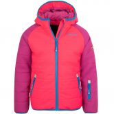 Trollkids - Hafjell Pro Snow Jacket Kids dark pink blue