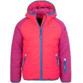 Trollkids - Hafjell Pro Schneejacke Kinder dark pink blue