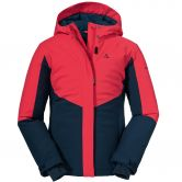 Schöffel - Brandnertal Ski Jacket Girls hibiscus
