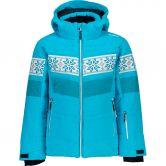 CMP - Snaps Hood Snow Jacket Kids turchese
