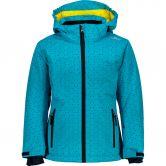 CMP - Snow Jacket Kids turchese curacao blue
