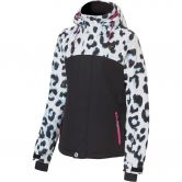 Rehall - Maggy Skijacke Kinder white leopard