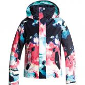 Roxy - Jetty Jacke Mädchen neon grapefruit cloud nine