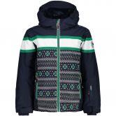 CMP - Ski Jacket Kids blue-emerald