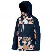 Picture - Zoe Ski Jacket Kids pink painter