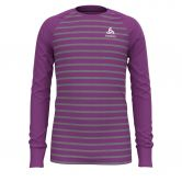 Odlo - Active Warm Eco Longsleeve Kids hyacinth violet grey melange