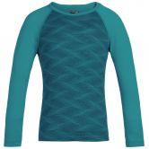 Icebreaker - 200 Oasis Long Sleeve Crewe Curve Kids turquoise