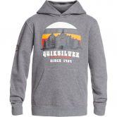 Quiksilver - Big Logo Kapuzenpulli Jungen heather grey