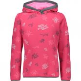 CMP - Hooded Sweatshirt Girls carminio pink fluo