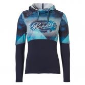 Rehall - Yara Hoodie Girls graphic mountains aqua