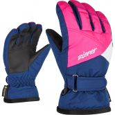 Ziener - Lara GTX® Kinder estate blue pop pink