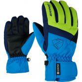 Ziener - Leif GTX Handschuhe Kinder lime green persian blue