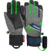 Reusch - Ferdi R-Tex® XT Jr. Gloves Kids black melange neon green