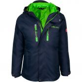 Trollkids - Hammerfest 3in1 Jacket Kids navy viper green