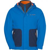 VAUDE - Campfire 3in1 Jacket IV Kids radiate blue