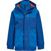 VAUDE - Campfire 3in1 IV Jacket Kids signal blue