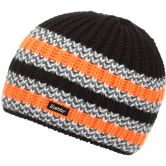 Eisbär - Glaring Hat Kids black orange