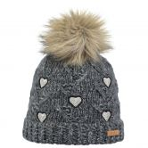Barts - Muriel Beanie Girls charcoal