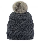 Barts - Claire Beanie Girls dark heather