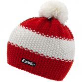 Eisbär - Star Pompom Hat Kids red white