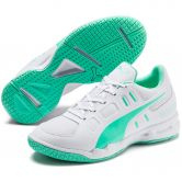 Puma - Auriz Youth Sneaker Kids puma white green glimmer
