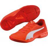 Puma - Veloz Indoor Schuhe Kinder shocking orange
