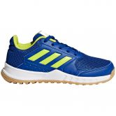 adidas - FortaGym K Sportschuhe Kinder collegiate royal semi solar yellow ftwr white