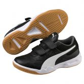 Puma - Tenaz V Jr. Indoor Shoes Kids puma black puma white iron gate gum