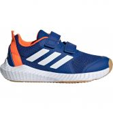 adidas - FortaGym CF K Hallenschuhe Kinder collegiate royal footwear white solar orange