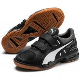 Puma - Auriz V Jr. Indoor Shoes Kids puma black puma white castlerock
