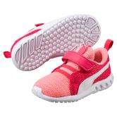 Puma - Carson 2 V PS Hook and Loop Shoes Kids soft fluo peach