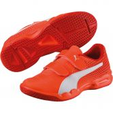 Puma - Veloz Indoor NG V Schuhe Kinder shocking orange