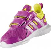 adidas - Winterfast CF I Running Shoes girls shock purple shock slime silver metallic