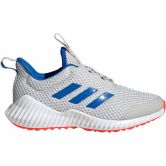 adidas - FortaRun Running Shoes Kids grey one glory blue solar red
