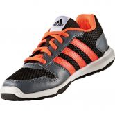 adidas - Essential Star 2 Laufschuh Kinder core black solar red onix