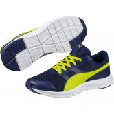 Puma - Flexracer Shoes Kids blue depths energy yellow
