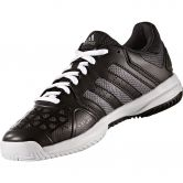adidas - Barricade Club XJ Tennisschuh Kinder core black night metallic white