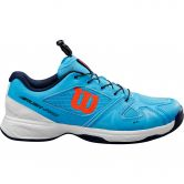 Wilson - Rush Pro Jr QL Tennisschuhe Kinder bonnie blue white tangerine