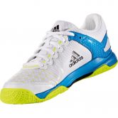 adidas - Court Stabil Handballschuhe Kinder white core black shock blue