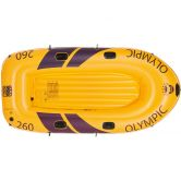 Happy People - Olympic Rubber boat 260er ( 265 kg) yellow