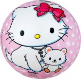 Happy People - Hello Kitty PVC Spielball rosa