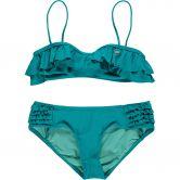 O'Neill - Morro Ruffle Bandeau Bikini Girls capri breeze