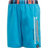 adidas - Colorblock Swim Shorts Boys shock cyan