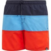 adidas - Colorblock Swim Shorts Boys legend ink glow blue