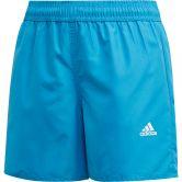 adidas - Classic Badge of Sport Badeshorts Jungen shock cyan